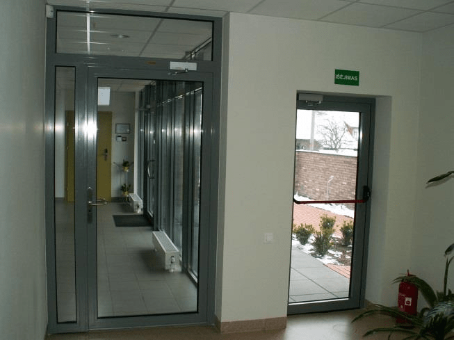 Smoke-Tight doors (Sm C5 1000mm x 2100mm Single door) & Smoke-Tight doors (Sm C5 1000mm x 2100mm Single door) - Smoke d...