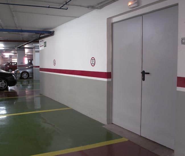 Ugunsdrošās durvis EI60 (1290