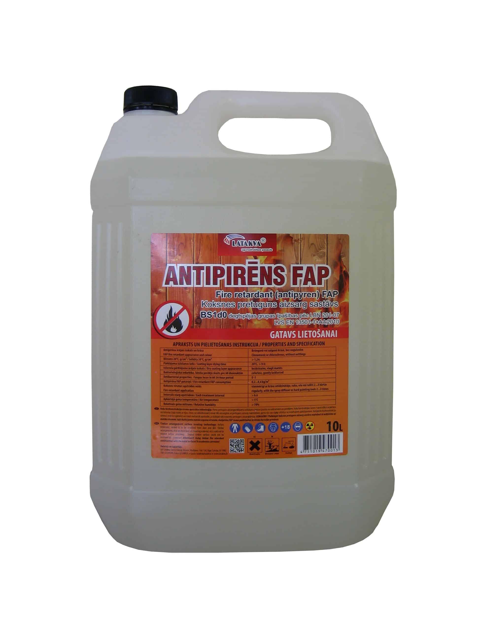 Antipirēns FAP (10 L., kanna)