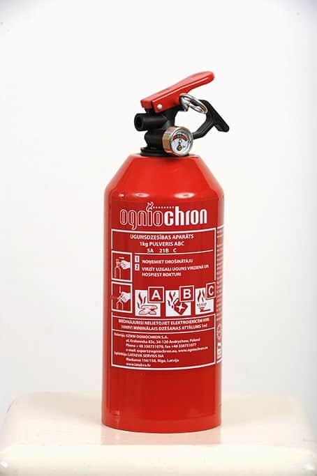 Pulvera ugunsdzēsības aparāts PA-1 (8A 21B)