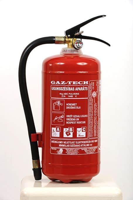 Pulvera ugunsdzēsības aparāts PA-4 (21A 144B)