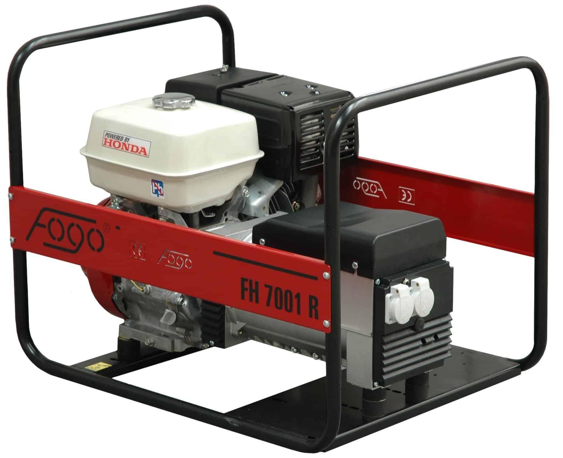 Gas and sel electric generators by Honda FOGO Eisemann Fir