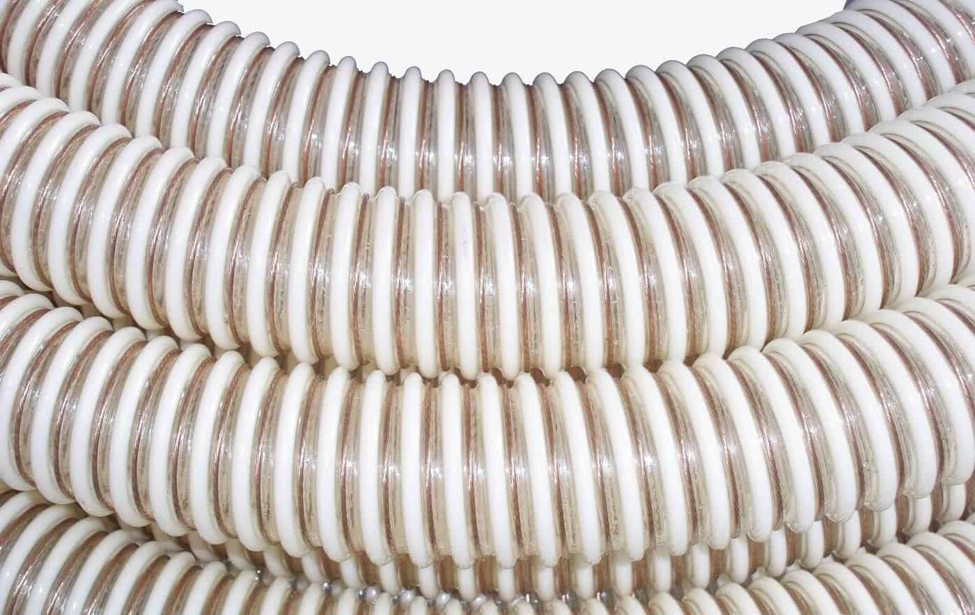 PVC iesūcošā šļūtene Ø 63mm, E