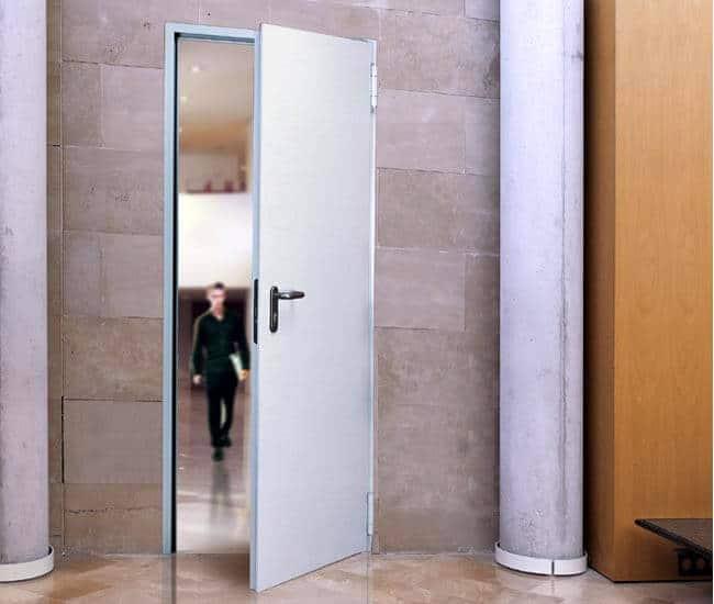 Tehniskās metāla durvis (890 *