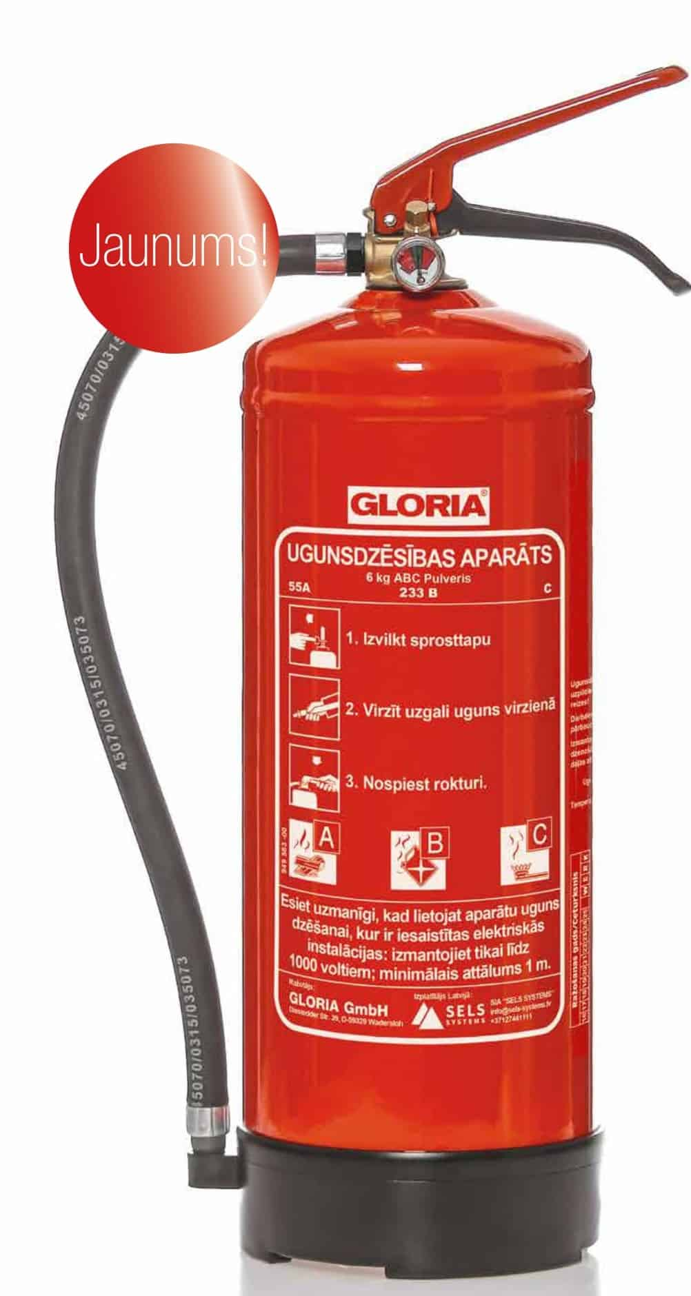 Powder fire extinguishers: types and devices